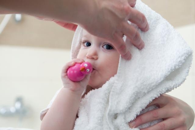 赤ちゃんタオル