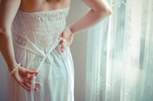 ウエディングドレス 試着