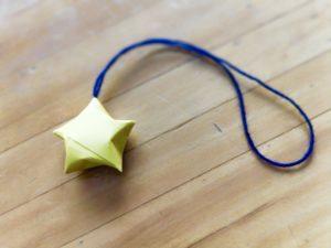 折り紙星ラッキスター