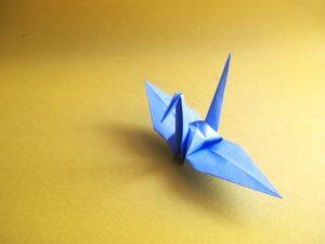 長寿 折り鶴