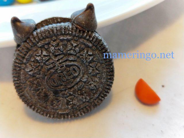 黒猫クッキー 耳