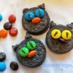 ハロウィン黒ねこクッキー