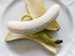 バナナと皮