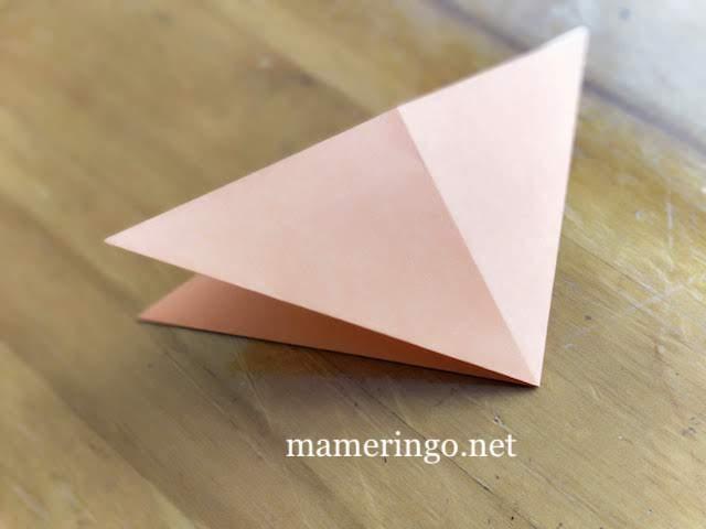 折り紙2枚 星2