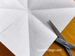 折り紙2枚 星3