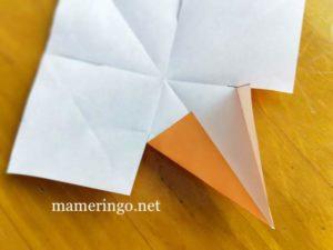 折り紙2枚 星4