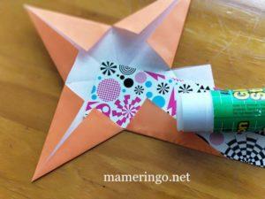 折り紙2枚 星6