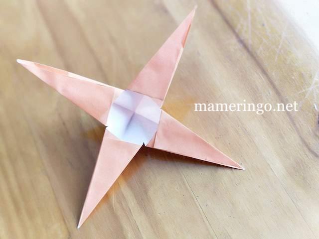 折り紙2枚 星8