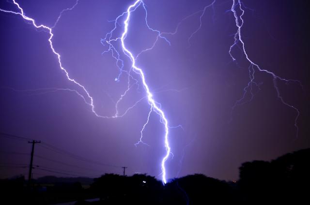 台風 停電
