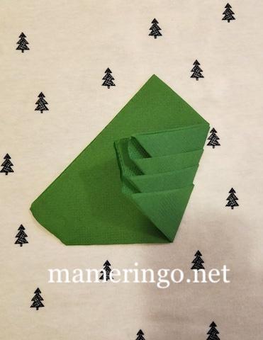 紙ナプキン クリスマスツリー