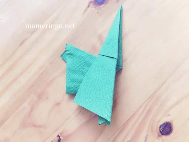 紙ナプキン サンタ小人