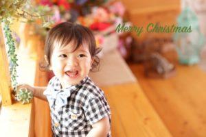1歳クリスマス